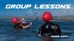 Group Kitesurfing Lesson Package - 4 Hours
